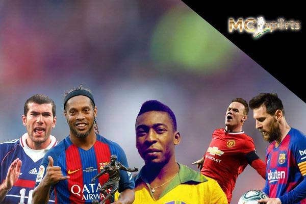"""""""ประทับใจที่สุด"""" กับ 5 ผู้เล่นยอดเยี่ยมตลอดกาล ภายใต้เสื้อหมายเลข 10 ufabet แทงบอล แทงบอลออนไลน์"""